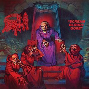 DEATH, scream bloody gore (butterfly edition) cover
