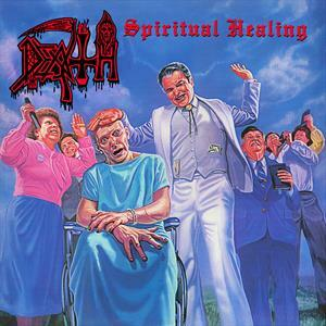 DEATH, spiritual healing (butterfly edition) cover