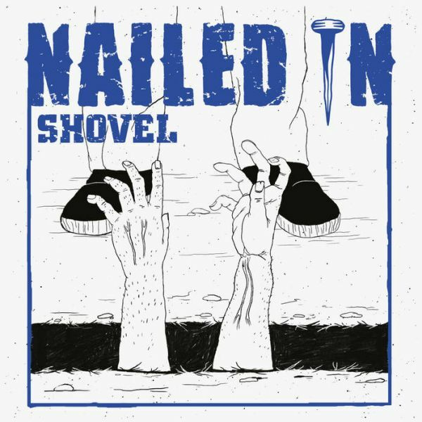 NAILED IN, shovel cover