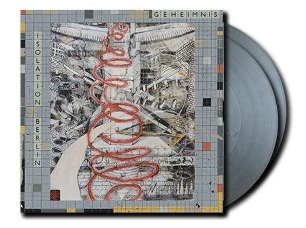ISOLATION BERLIN, geheimnis (flight 13-exklusives silber-vinyl) cover