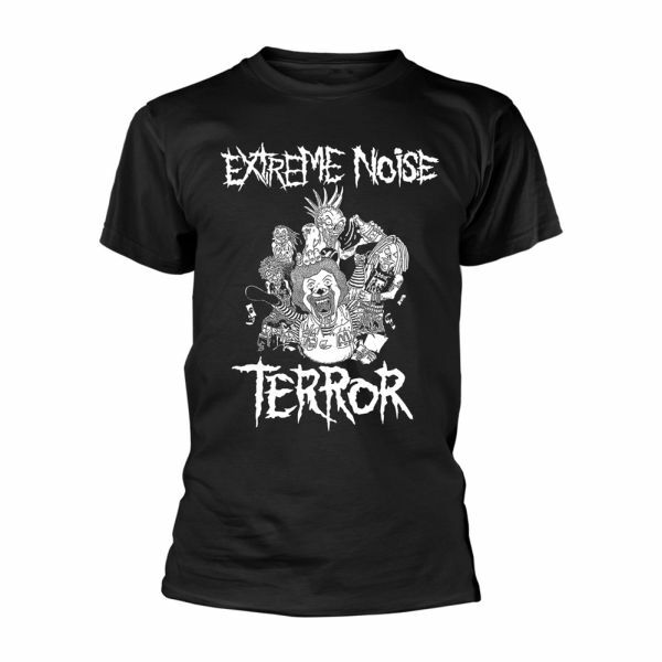 EXTREME NOISE TERROR, in it for life (boy) black cover