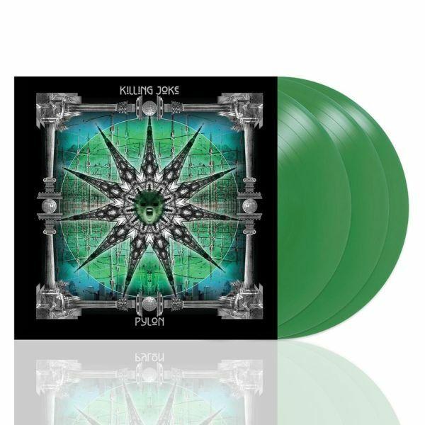 KILLING JOKE, pylon (deluxe reissue) cover