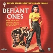 DEFIANT ONES, savage songs from the teen-age jungle cover