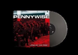 PENNYWISE, land of the free? (silver vinyl) cover