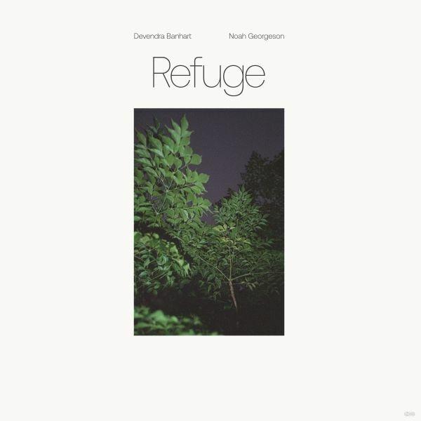 DEVENDRA BANHART & NOAH GEORGESON, refuge cover