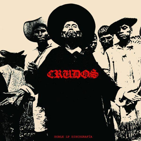 LOS CRUDOS, doble lp dskografia cover