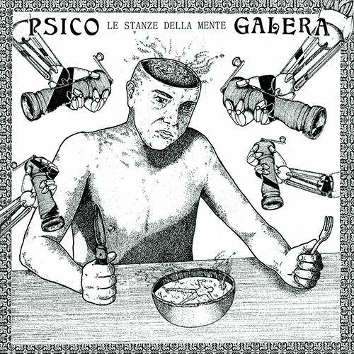 PSICO GALERA, le stanze della mente cover
