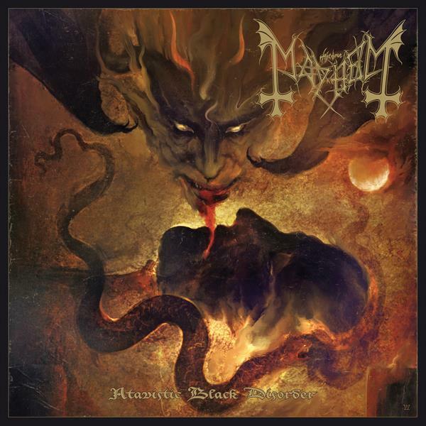 MAYHEM, atavistic black disorder/kommando-ep cover