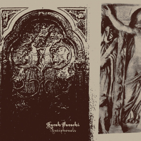 SARAH DAVACHI, antiphonals cover