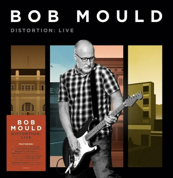 BOB MOULD, distortion: live cover