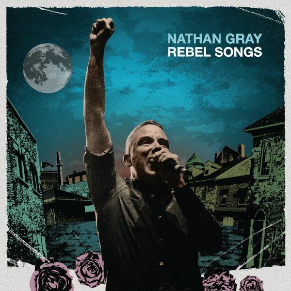 NATHAN GRAY, rebel songs (pink vinyl) cover