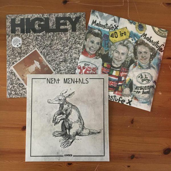 LP ÜBERRASCHUNGSPACK, flight 13 records (3 LP´s) cover