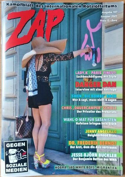 ZAP, # 157 cover