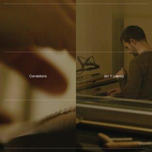 CARLOS CIPA, correlations (on 11 pianos) cover