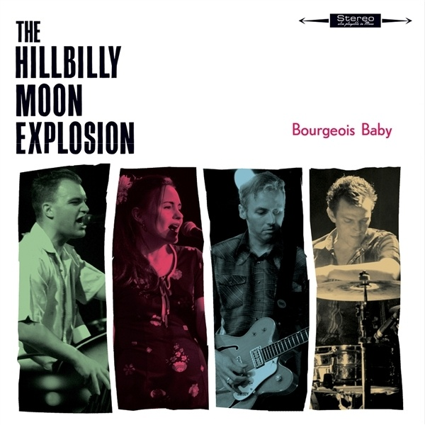 HILLBILLY MOON EXPLOSION, bourgeois baby cover