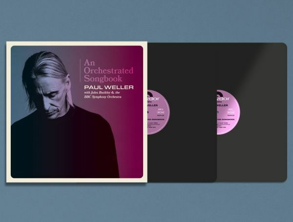 PAUL WELLER, an orchestrated songbook with jules buckley cover