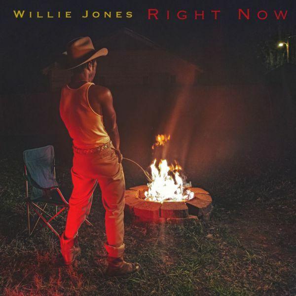 WILLIE JONES, right now cover