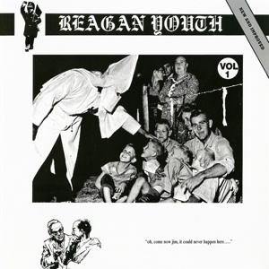 REAGAN YOUTH, youth anthems for the new order cover