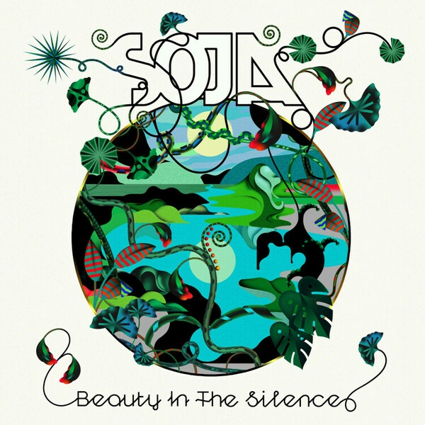 SOJA, beauty in the silence cover