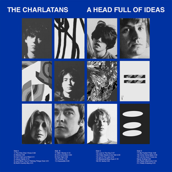 CHARLATANS, a head full of ideas cover