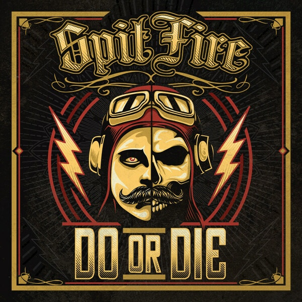 SPITFIRE, do or die cover