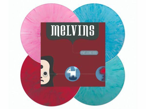 MELVINS, five legged dog cover