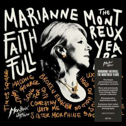 MARIANNE FAITHFULL, the montreux years cover