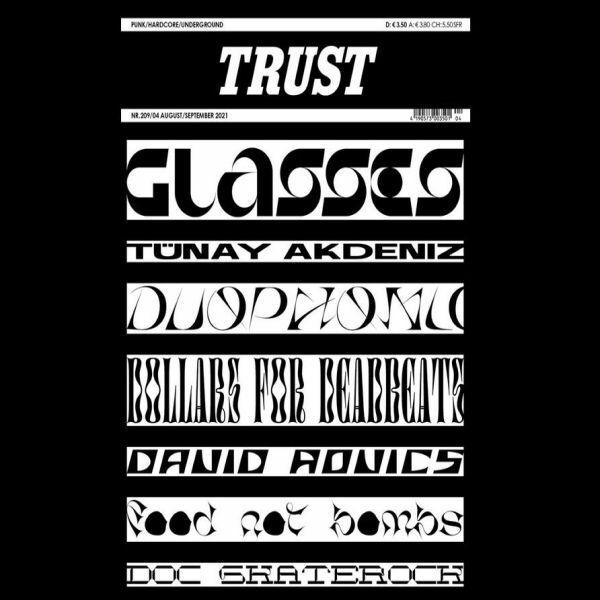 TRUST, # 209 cover