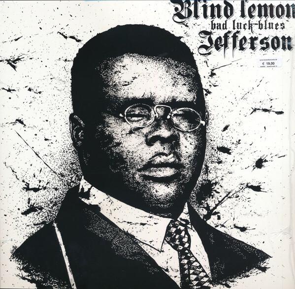 BLIND LEMON JEFFERSON, bad luck blues cover