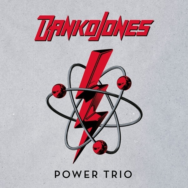 DANKO JONES, power trio (UK exclusive silver vinyl) cover