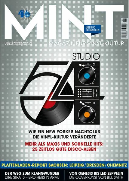 MINT, # 46 cover