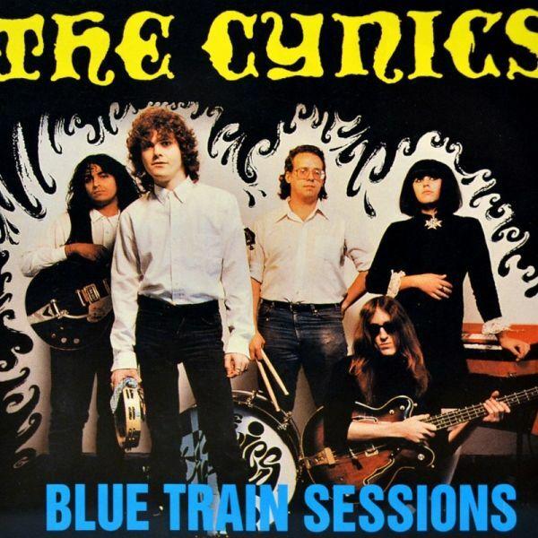 CYNICS, blue train station cover