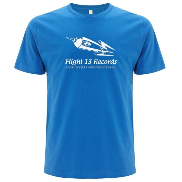FLIGHT 13, rocket (boy), electric blue cover