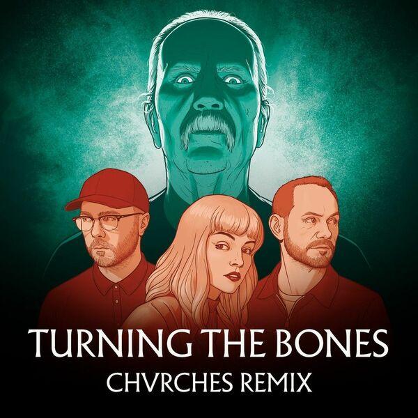 JOHN CARPENTER/CHVRCHES, turning the bones cover