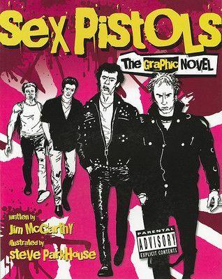 JIM MCCARTHY/STEVE PARKHOUSE, sex pistols - die graphic novel cover