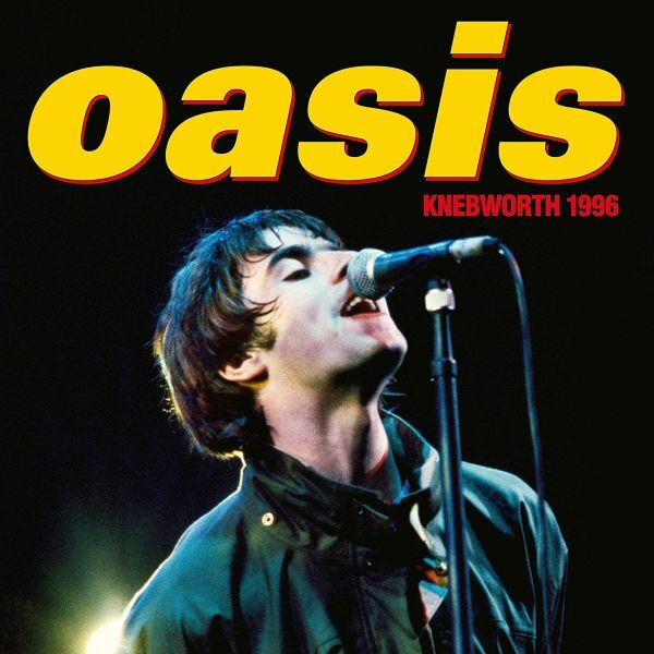 OASIS, knebworth 1996 cover