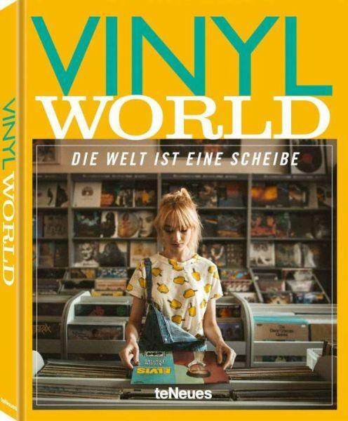 THOMAS HAUFFE/MARKUS CASPERS, vinyl world (deutsche ausgabe) cover