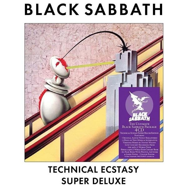 BLACK SABBATH, technical ecstasy (super deluxe) cover