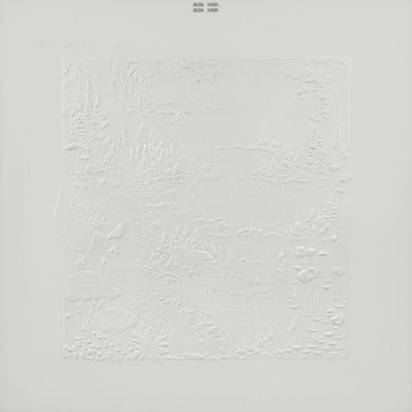 BON IVER, s/t (10th anniversary edition) cover