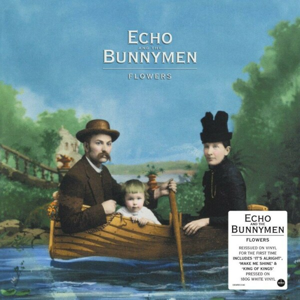 ECHO & THE BUNNYMEN, flowers cover