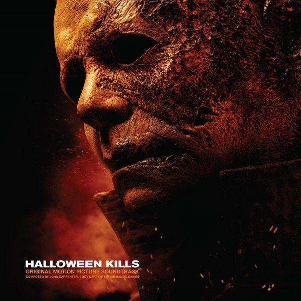 O.S.T. (JOHN CARPENTER), halloween kills cover