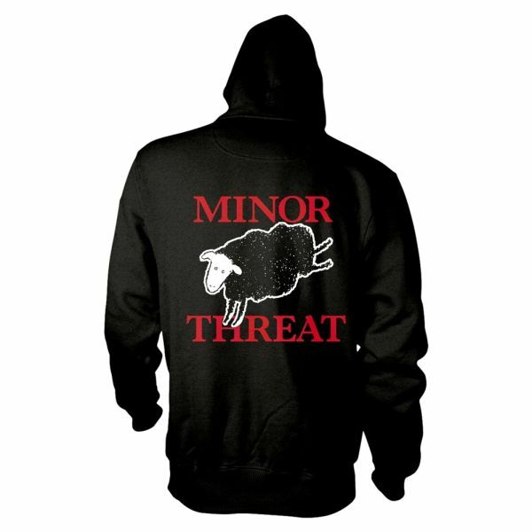 MINOR THREAT, out of step (boy) black cover