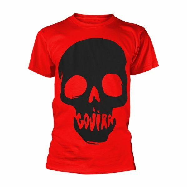 GOJIRA, skull mouth organic (boy) red cover
