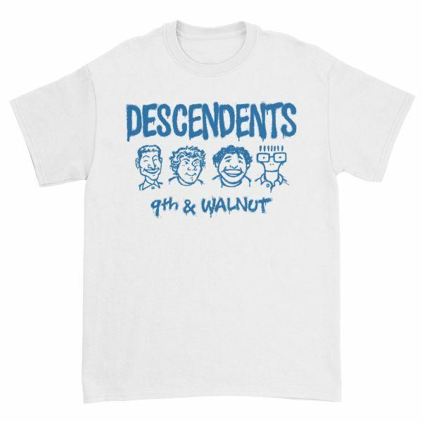 DESCENDENTS, 9th & walnut (boy) white cover