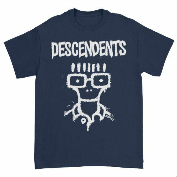 DESCENDENTS, sketch milo (boy) navy cover