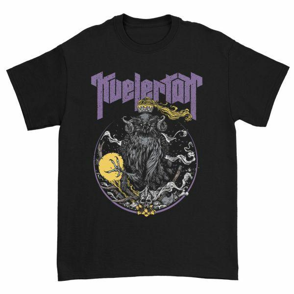 KVELERTAK, fire king owl (boy) black cover