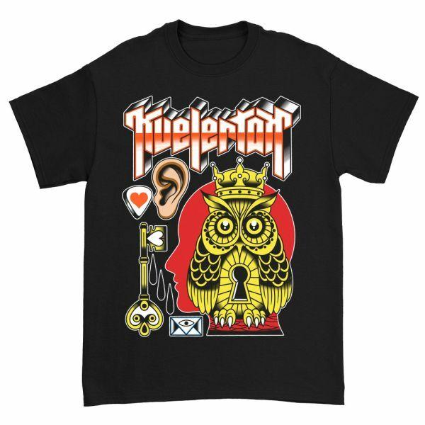 KVELERTAK, king owl (boy) black cover