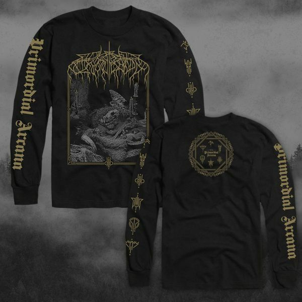WOLVES IN THE THRONE ROOM, primordial arcana (boy) longsleeve black cover