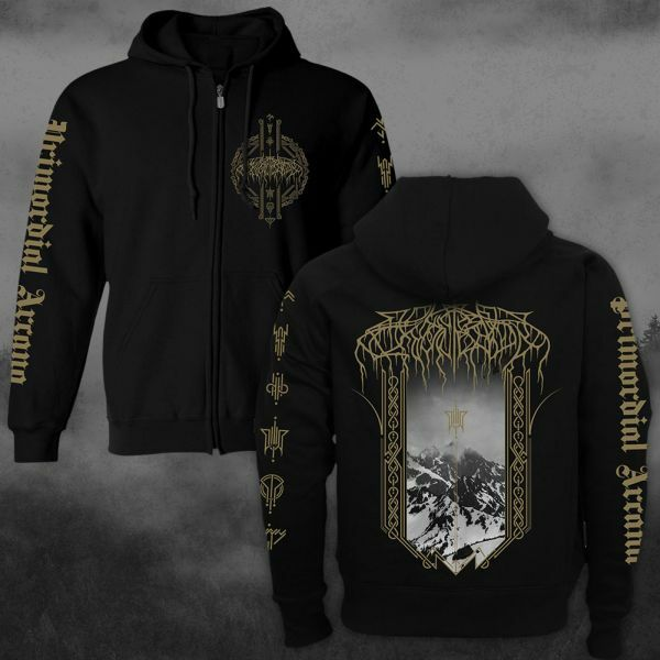 WOLVES IN THE THRONE ROOM, primordial arcana (boy) hoodie black cover