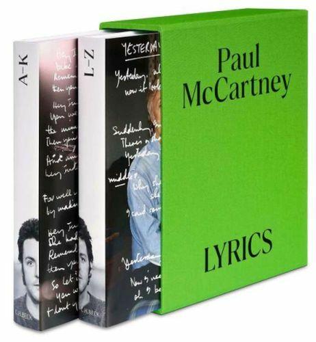 PAUL MCCARTNEY, lyrics cover